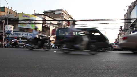 City traffic Footage