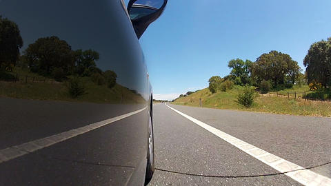 Reflection on the Car Footage
