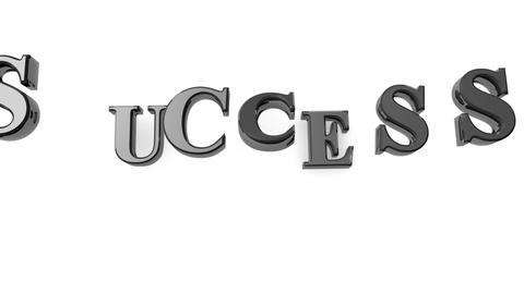 Falling Black Success Stock Video Footage