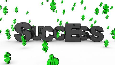 Success Dollar Signs Animation