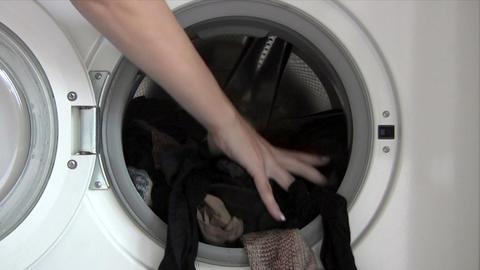 Emptying Washing Machine Footage