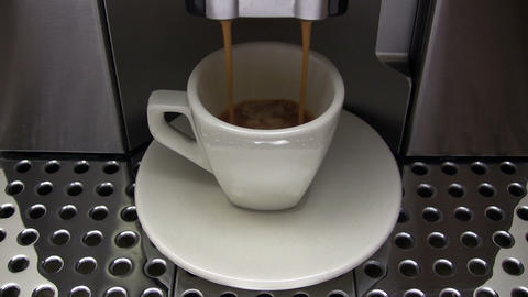 Espresso Machine stock footage