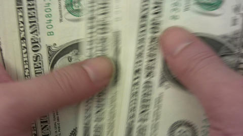Counting Dollars Footage
