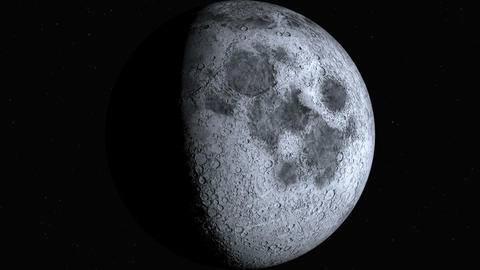 Moon Phases (30fps) Animation