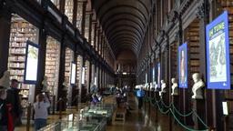 Trinity Collage Dublin Footage