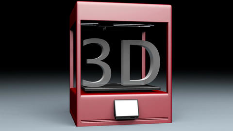 4K 3D Printer 1 Animation