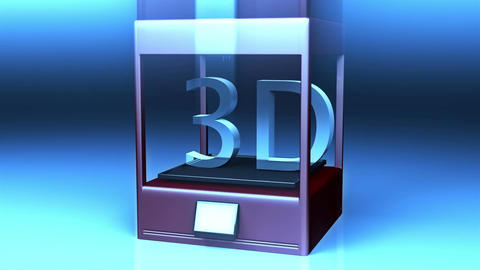 4 K 3 D Printer 5 Animation