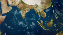 Earth Zoom to Indian Ocean Image