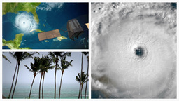 Hurricane Montage stock footage
