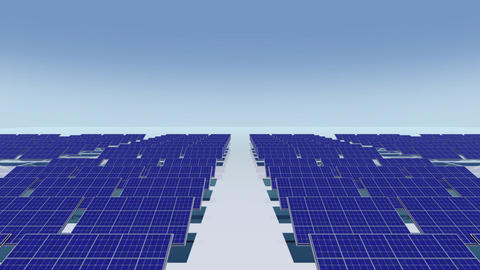 Solar Panel Cb HD stock footage