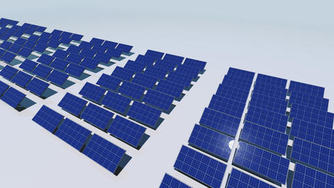 Solar Panel Cd HD stock footage