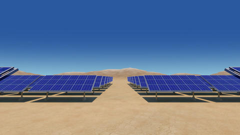 Solar Panel Sb HD Stock Video Footage