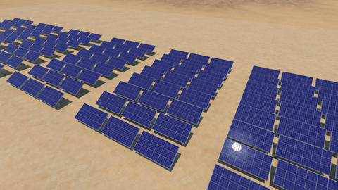 Solar panel Sd HD Animation