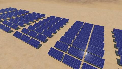 Solar panel Sd HD Stock Video Footage