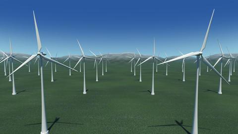 Wind Turbine Gb HD Stock Video Footage