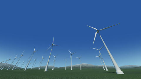Wind Turbine Gd HD Stock Video Footage