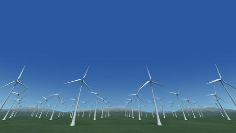 Wind Turbine Gf HD Stock Video Footage