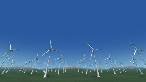 Wind Turbine Gf HD Stock Video Footage