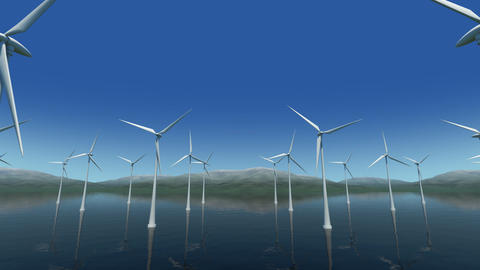 Wind Turbine Sb HD CG動画