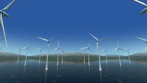 Wind Turbine Sb HD Stock Video Footage