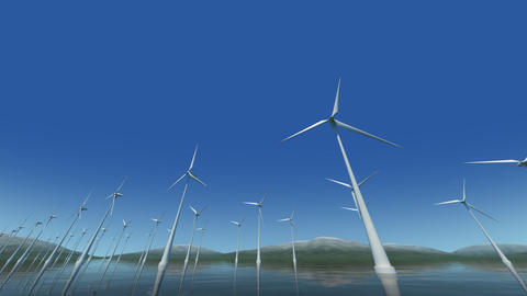Wind Turbine Sd HD Stock Video Footage