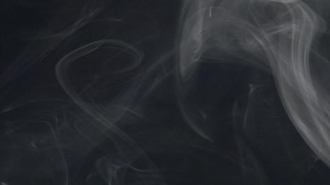 smoke series: big blast smoke wipe down Stock Video Footage