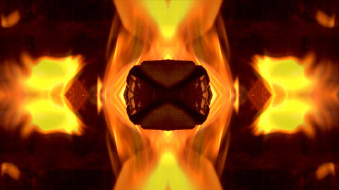 abstract fire BG01 Stock Video Footage