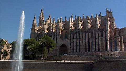 Cathedral de Mallorca - La Seu Footage