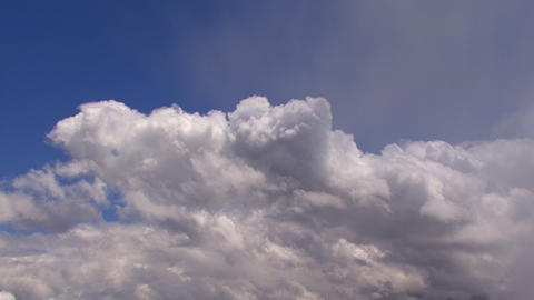 TL clouds and blue Stock Video Footage