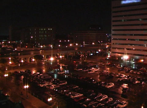 City at Night (2) Stock Video Footage