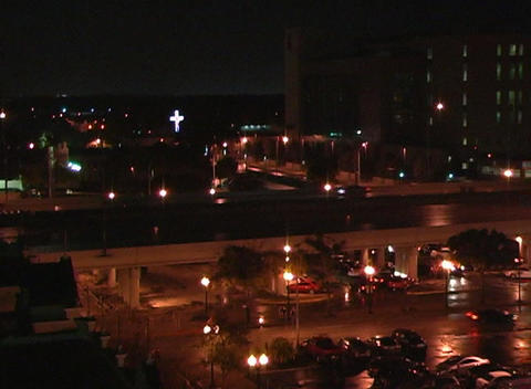 City at Night (4) Stock Video Footage
