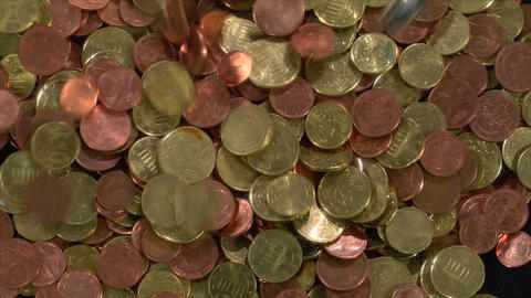 dollar under big euro pressure Stock Video Footage