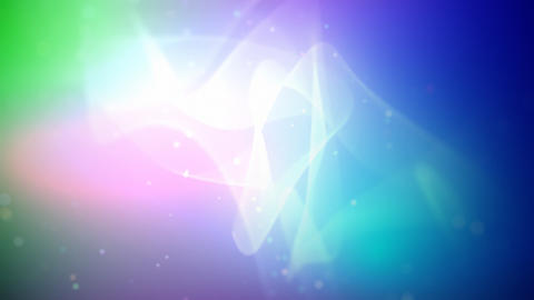 Abstract cloth and particles loop Stock Video Footage