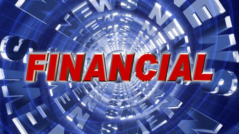 Series News opener - financial Animation