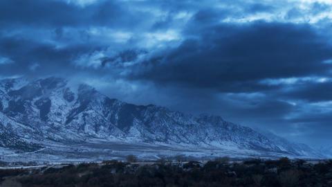 Winter Landscape Stock Video Footage