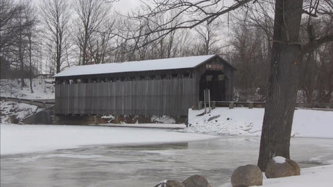 Covered bridge6 Footage