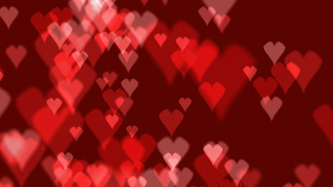 heart background 03 Stock Video Footage