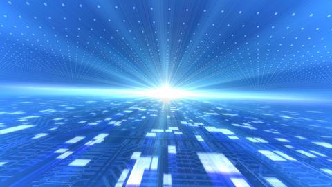 Future tech space 2 Da Stock Video Footage