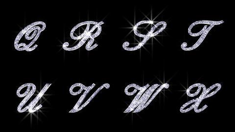 Alphabet Twinkle Silver B1 HD Animation