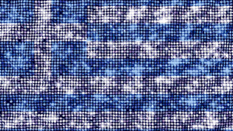 Spangle Flag Greece Animation