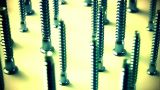 Screws stock footage