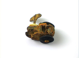 Rusty toy car Stock Video Footage
