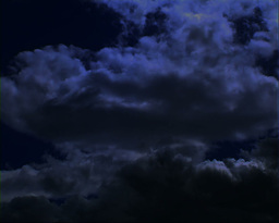 Moonlight Clouds Stock Video Footage