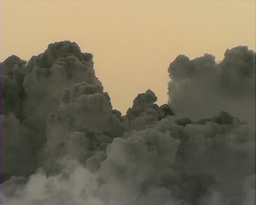 Volcano Cloud Footage