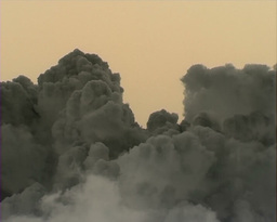 Volcano Cloud Stock Video Footage