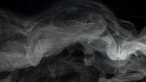 Smoke series:Smoke anemone Stock Video Footage