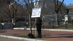 U.S. White House 05 Protest Footage