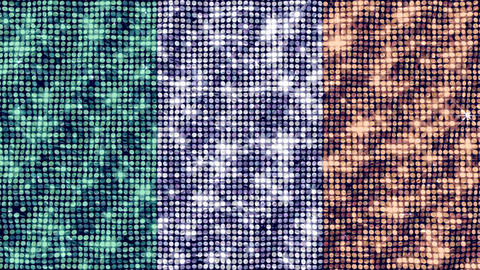 Spangle Flag Ireland Animation