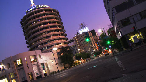 Hollywood Capitol Records 05 (Time Lapse) Footage