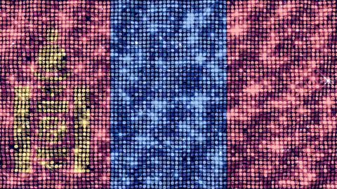 Spangle Flag Mongolia Animation